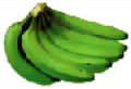 Full Green Bananas