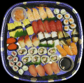 54 piece Sushi Platter