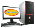 Across Asus PC3702-6641 E6600 Win 7 Desktop PC