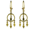 Isa Gold Earrings
