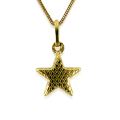 Star Pendant And Necklace