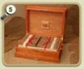 Cigars TBC Coronas Largas Classic Humidor Narra