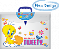 LTE-105: Expanding Plastic Envelope with Print (Looney Tunes Edition)