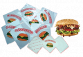 HD Food / Hamburger Wrapper