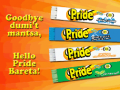 Pride Laundry Detergent Bar
