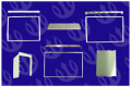 Computer Parts Metal Frames