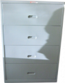 Access Lateral File  Cabinet 4-Drawers