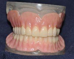 Order Dentures, removable; False teeth; Partials; Plates.