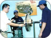 Order Repairs and Balancing Work