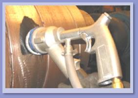 Order Grit Blasting Using Alumina Oxide Grits