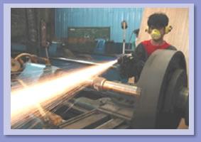 Order HVOF Spray HVT- 2000 Photo: Rebuilding of Shaft