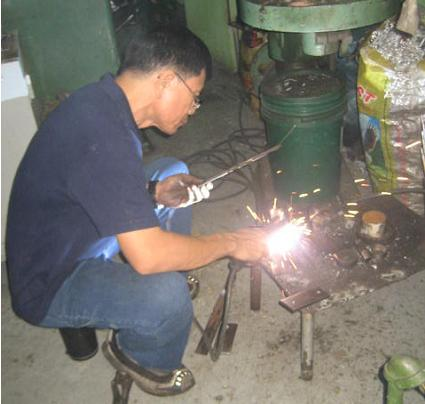 Order Welding of aluminum