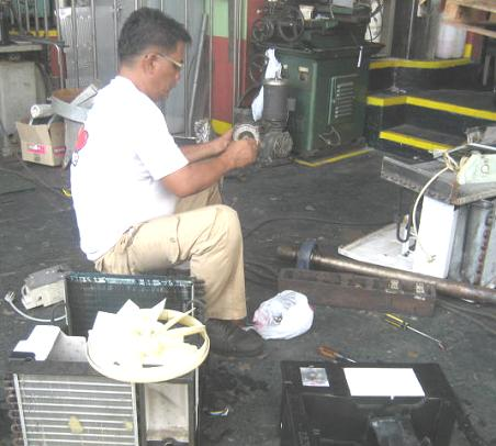Order Maintenance and Repair of any Type of Air-conditioning and Refrigeration Systems