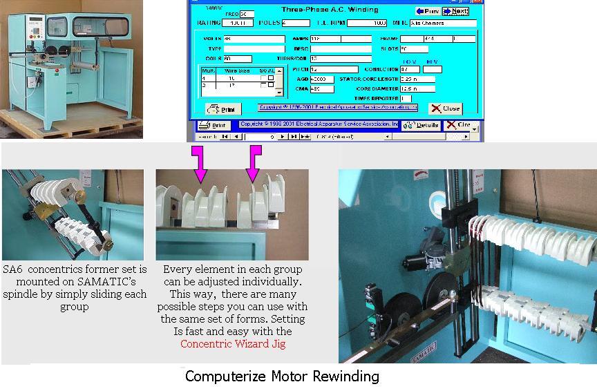 Order Computerize Motor Rewinding