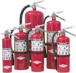 FIRE BRAKE dry chemical fire extinguisher