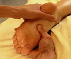 Relaxing Feet Massage