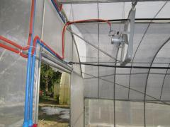 Greenhouse repair, upgrade and modifications